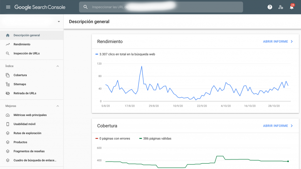 google search console, web master tool