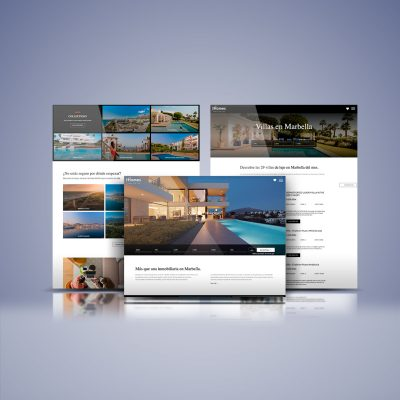 Web Inmobiliaria HHomes